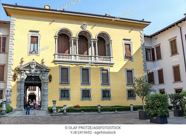 Palazzo Vescovile in Como, Italy