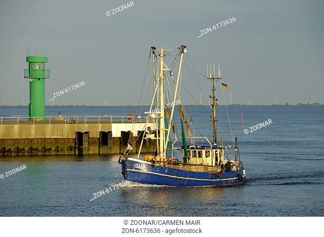 Fishing boat in Buesum
