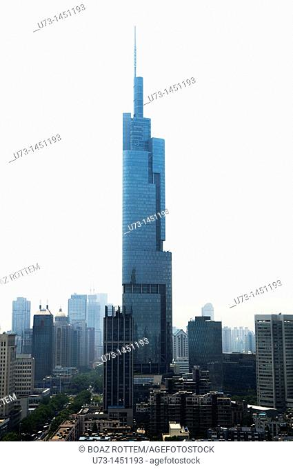The Zifeng tower in Nanjing is the world's 7th tallest building