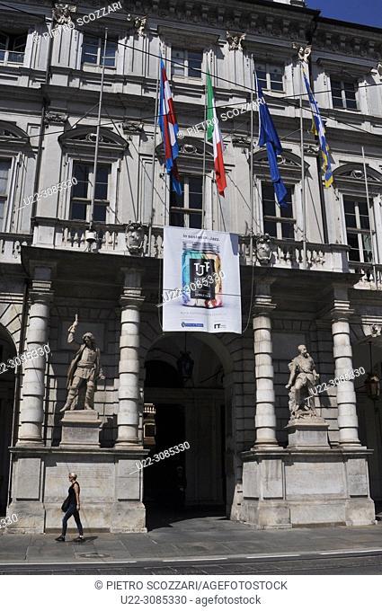 Turin, Italy: Palazzo Civico (City Hall)