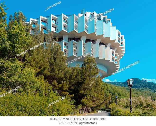 Druzhba sanatorium Friendship sanatorium Kurpati, The Greater Yalta, Crimea, Ukraine, Eastern Europe