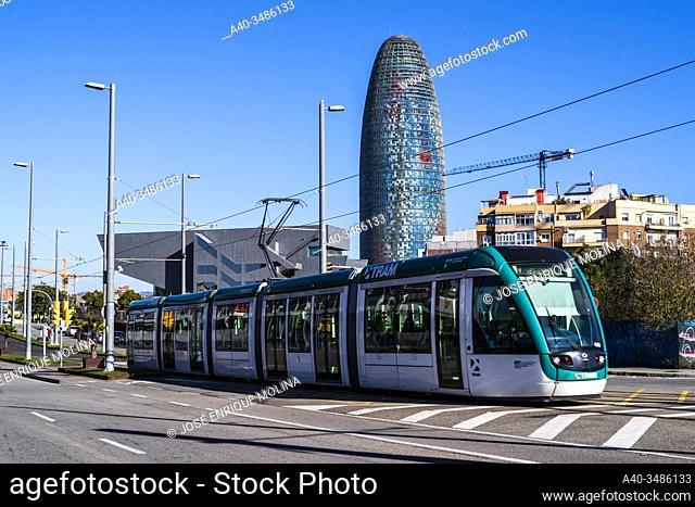 22 @ district in Barcelona, Catalonia, Spain