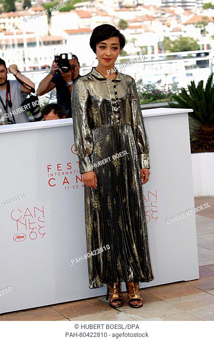 Actress Ruth Negga attends the photocall of 'Loving' during the 69th Annual Cannes Film Festival at Palais des Festivals in Cannes, France, on 16 May 2016