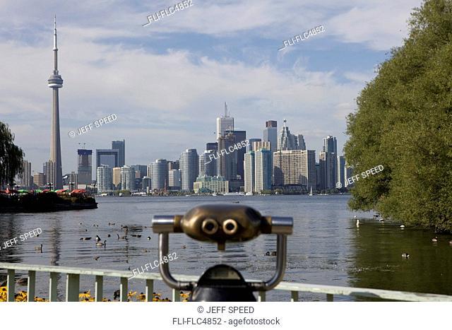 Skyline of Toronto from Toronto Island