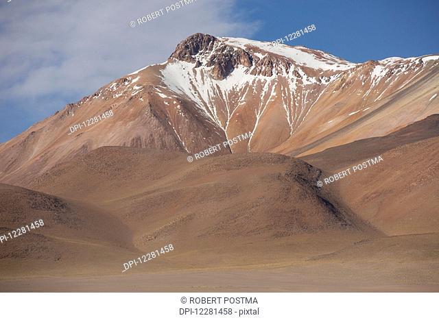 The surreal mountainous landscape of Bolivia's Altilano region; Bolivia