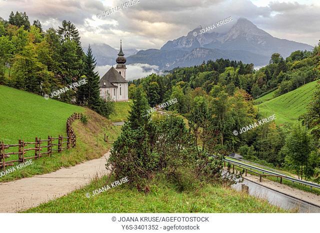 Maria Gern, Berchtesgaden, Bavaria, Germany, Europe