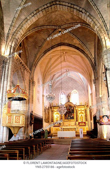 Church of Auvillar, Tarn et Garonne, Occitanie