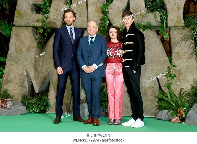 World Premiere of 'Early Man' at the BFI IMAX, London. Featuring: Tom Hiddleston, Nick Park, Maisie Williams, Eddie Redmayne Where: London