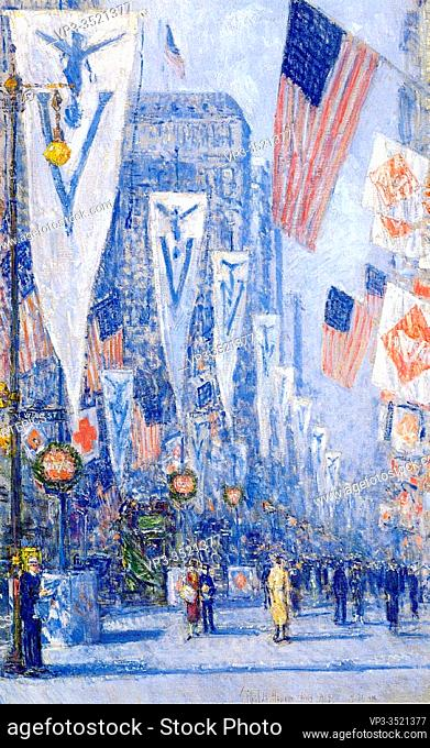 Frederick Childe Hassam - Victory Day May 1919