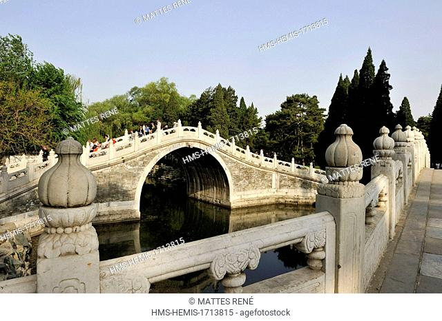 China, Beijing, the Summer Palace (Yiheyuan) listed as World Heritage by UNESCO