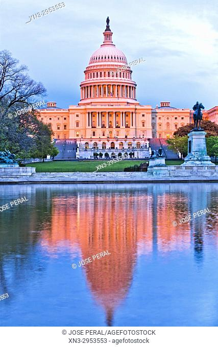 United States Capitol, often called the Capitol Building, is the home of the United States Congress, National Mall, Washington, D.C