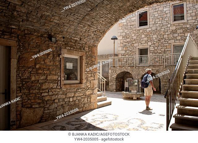 Museum and Art Gallery, Vela Luka, island of Korcula, Croatia