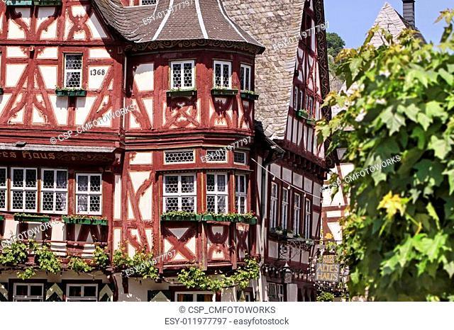 Historic half-timbered house
