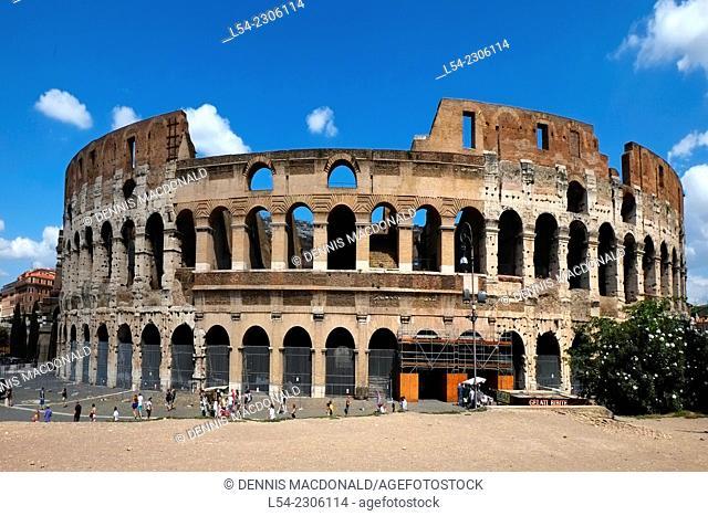 Colosseum Rome Italy IT EU Europe