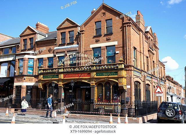 The Hatfield House Bar Belfast Northern Ireland UK