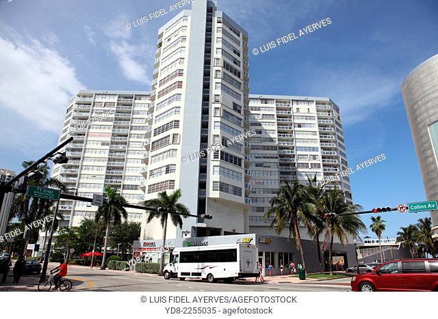Collins Ave in Miami Beach