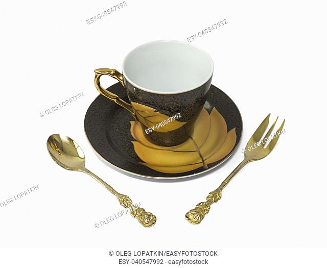 four items in a set for breakfast