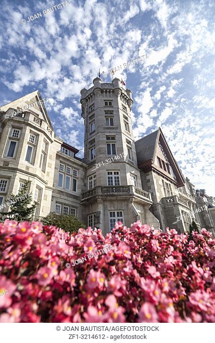 Royal Palace, Real Palacio de la Magdalena, Santander,Cantabria,Spain