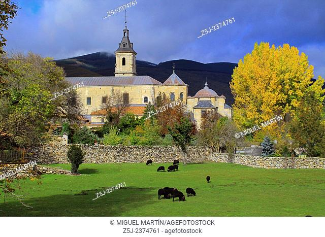 The monastery of Santa María de El Paular, founded in 1390 by the king Henry II of Castile near Rascafría, is the Lozoya Valley's great historical and...