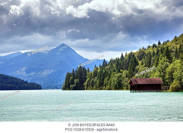 Boathouse on Lake