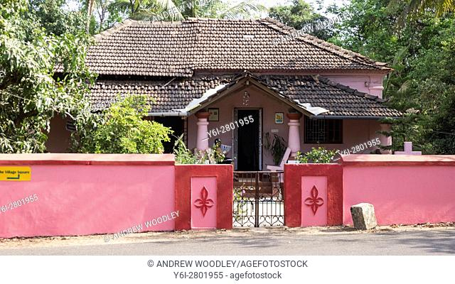 Colonial home Goa India