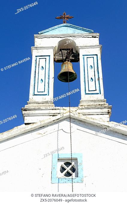Bell tower in Kandanos in the prefecture of Chania - Crete, Greece