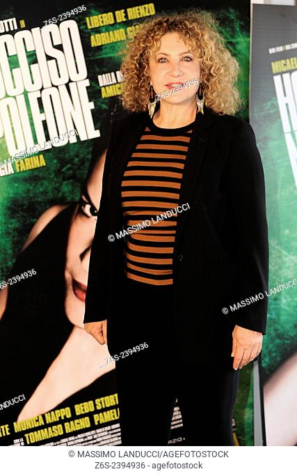 iaia forte; forte; actress; celebrities; 2015;rome; italy;event; photocall; ho ucciso napoleone