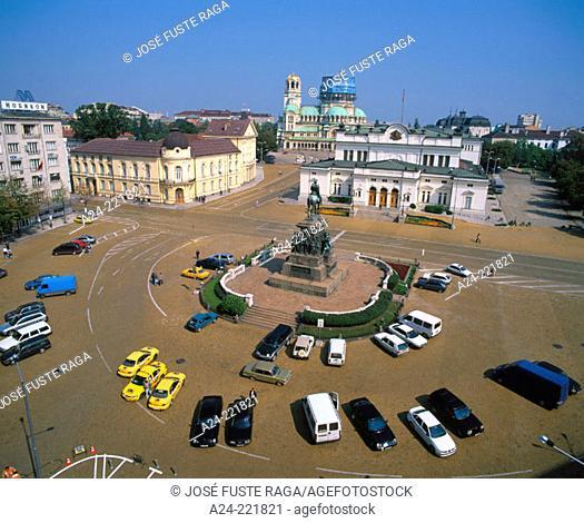 Alexander Nevsky Square. Sofia. Bulgaria