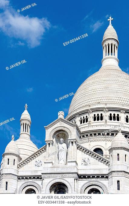 The Sacre-Coeur, Montmartre, Paris, France