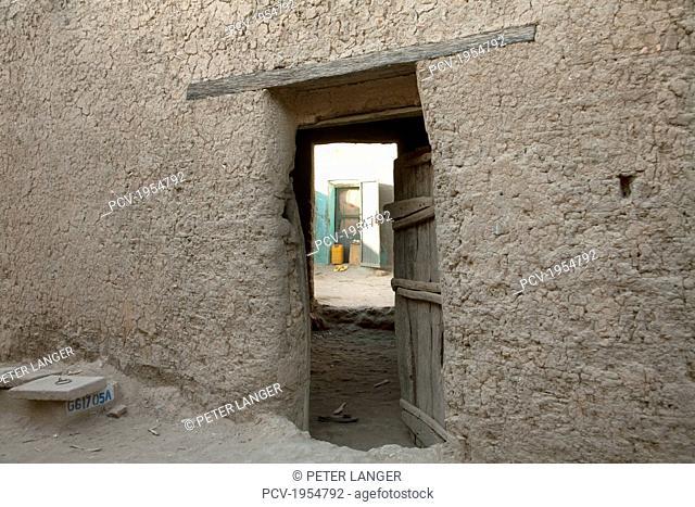 Courtyard in Djenne, Mali
