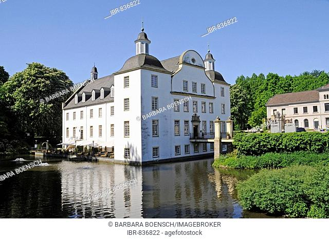 Borbeck Water Castle, cultural centre, museum, Essen, North Rhine-Westphalia, Germany, Europe