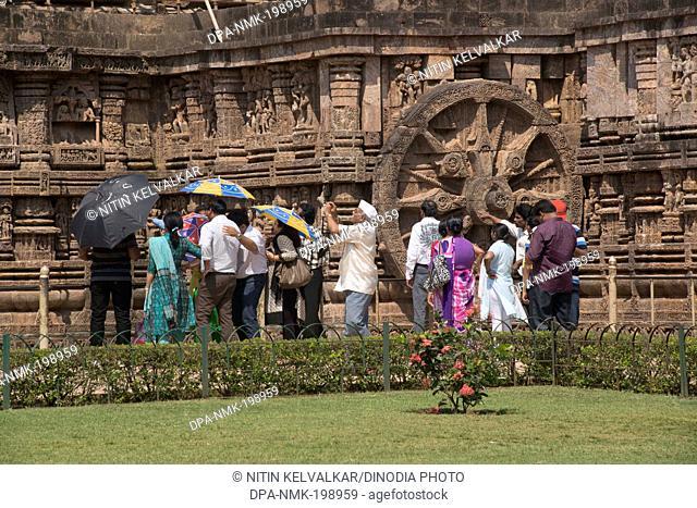 Sun temple, konark, orissa, india, asia