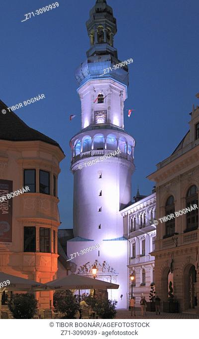 Hungary, Sopron, Firewatch Tower,
