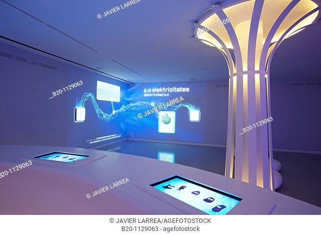 Btek, Centre for the Interpretation of Technology, Technology Park of Bizkaia, Zamudio, Euskadi, Spain