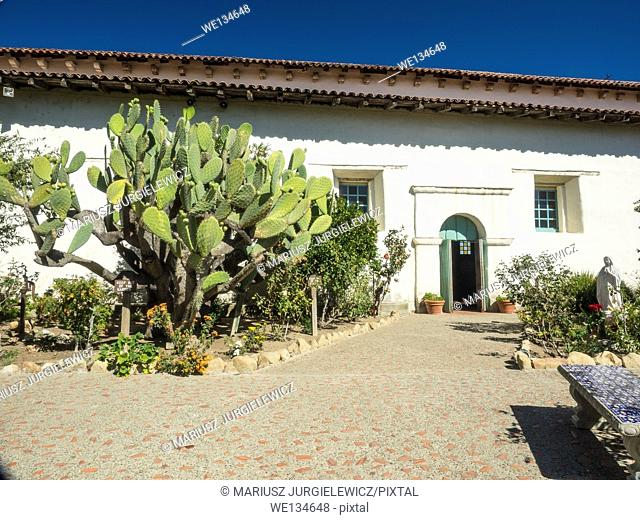 Mission San Juan Bautista is a Spanish mission in San Juan Bautista, California
