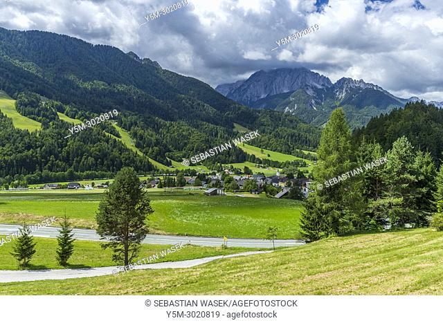 Upper Sava Valley, Podkoren, Upper Carniola, Slovenia, Europe