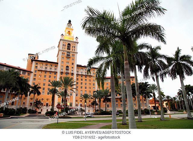 Biltmore Hotel in Coral Gables, Florida, USA