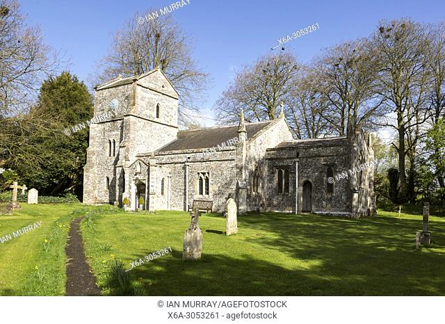 Church of Saint Mary, Orcheston, Wiltshire, England, UK