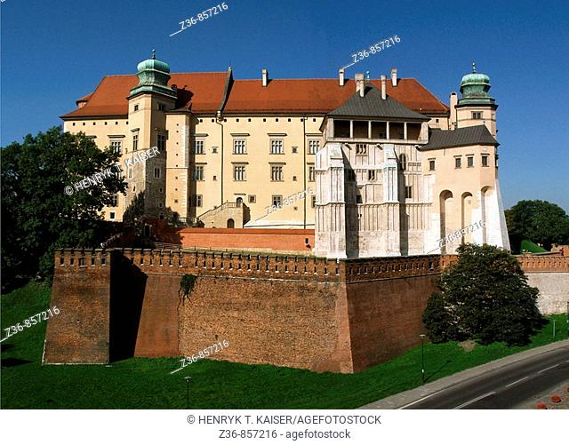 Poland, Krakow, Wawel Royal Castle