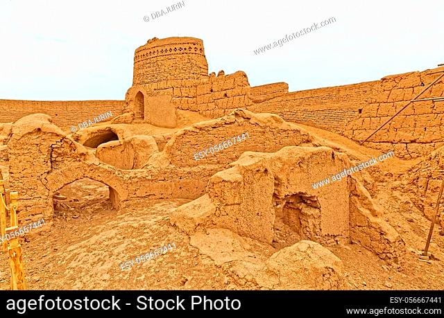 Narin castle in Meybod Iran is a mudbrick fort and one of the most important relics of the province built some 2, 000 years ago