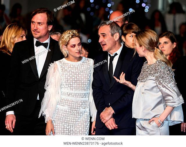 69th Cannes Film Festival - 'Personal Shopper' - Premiere Featuring: Kristen Stewart, Lars Eidinger, Olivier Assayas Where: Cannes