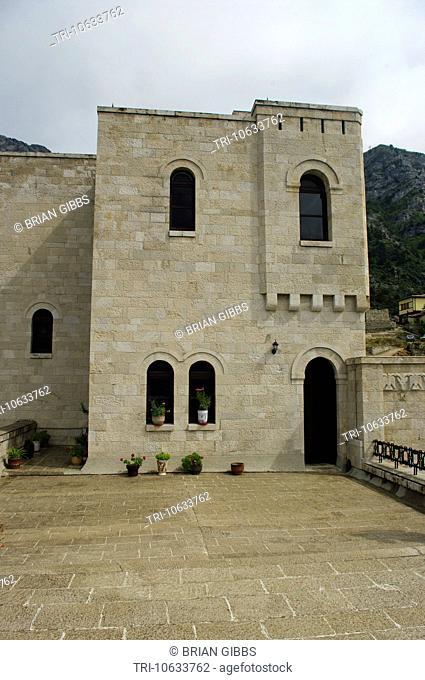 Skandderbeg Castle Museum Kruja Albania