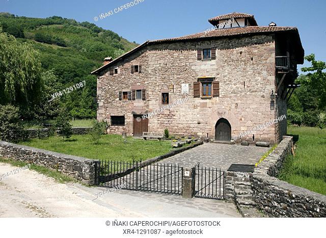 Zubiria Palace, Arrayoz Arraioz, Baztan Valley, Navarra Nafarroa, Spain España