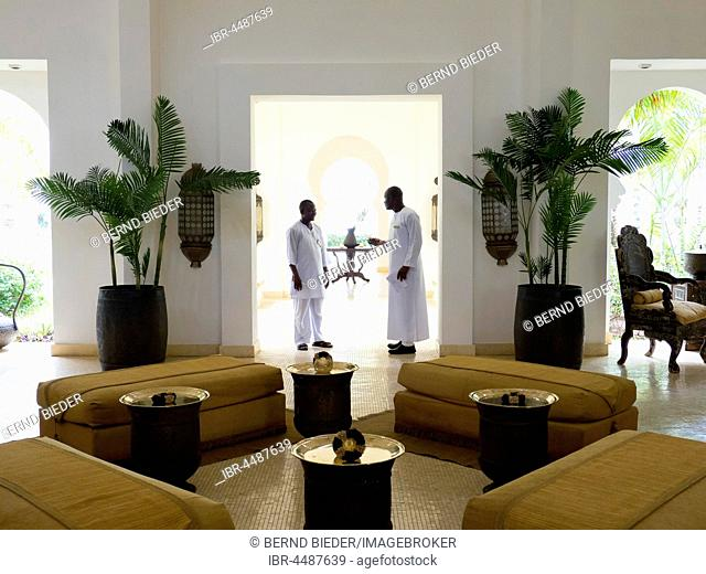 Baraza luxury resort lobby, Zanzibar Archipelago, Tanzania