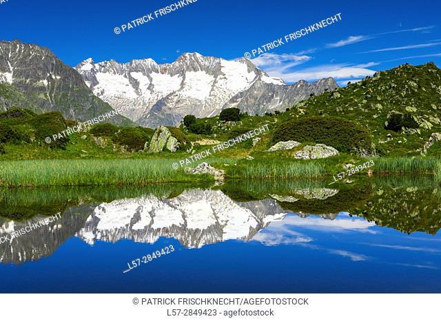 Wannenhorn, Wallis, Switzerland
