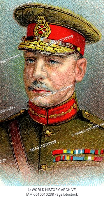 Major-General Charles Vere Ferrers Townshend (1861-1924) British Indian Army officer. In First World War led disastrous first British Expedition against Baghdad