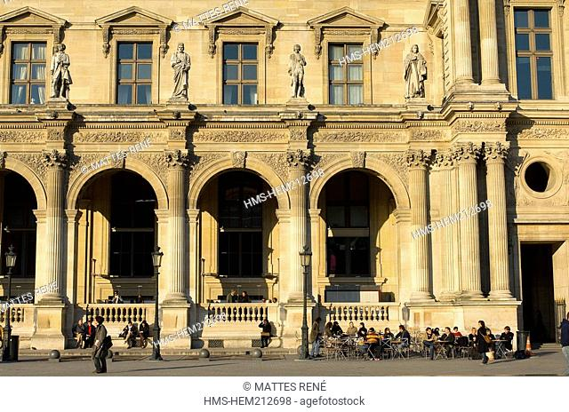 France, Paris, Louvre Palace
