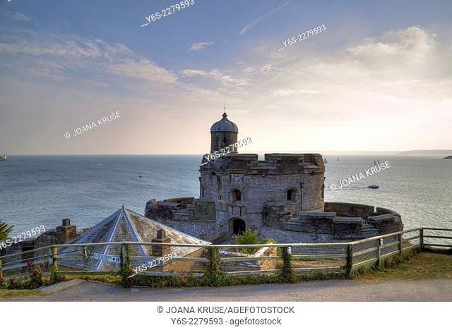 St Mawes, Castle, Cornwall, England, United Kingdom