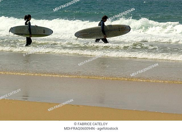 France - Aquitaine - Gironde - Atlantic coast
