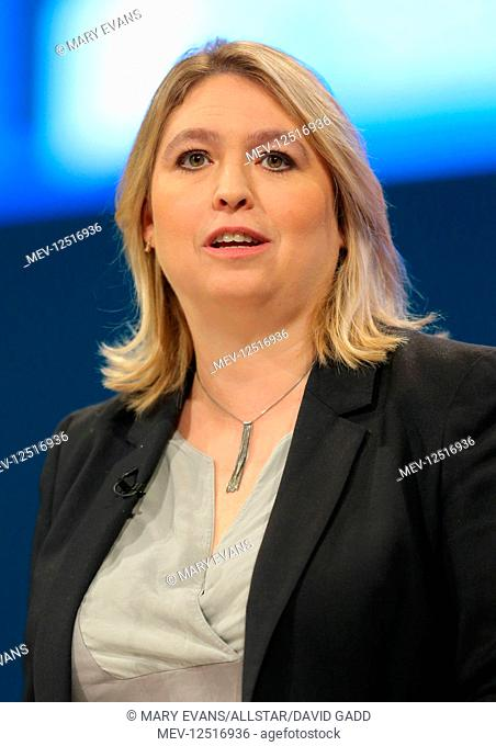 Karen Bradley MP Secretary Of State For Digital, Culture, Media And Sport Conservative Party Conference 2017 Manchester Central, Manchester
